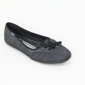Keds Glitter Sneakers Flat Shoes Rainbow Shimmer